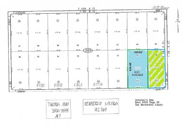 4.80 Ac One Lot W/of Ft. Cady Rd @ Derwent, Newberry Springs