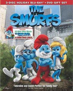 The Smurfs/The Smurfs: Christmas Carol AND Blu-ray ONLY
