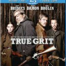 True Grit (Blu-ray/DVD, 2011, 2-Disc Set, Includes Digital Copy) USED