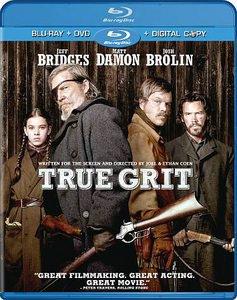 True Grit (Blu-ray/DVD, 2011, 2-Disc Set, Includes Digital Copy) USED