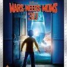 Mars Needs Moms (Blu-ray/DVD, 2011, 4-Disc Set, Includes Digital Copy; 3D)