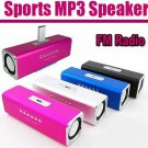 High quality Angel Mini Music UK2 speakers lithium electricity+SD/TF card speaker U-Disk+FM speaker