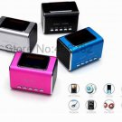 MD05X Music Angel speaker,support USB/ TF memory card ,FM+LCD screen