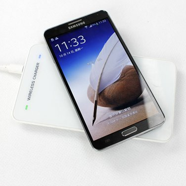 Qi Standard Wireless charger charging Pad MC-04 with receiver for SAMSUNG Galaxy Note 3/Note III