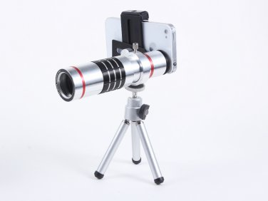 Universal 18X Telephoto zoom Lens For All-purpose mobile Phone for Samsung galaxy S4, iPhone 5S/5/4S