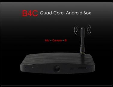 Measy B4C Android 4.2 Set Top TV Box Quad Core Streaming Media 2.0MP Camera 2*Mic Media Player