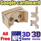 Newest MAX Version Google Cardboard  VR 3D Glasses With NFC For  Android 4.1 or More Versions Phone