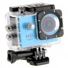 WiFi Sports Camera 1080P Full HD 12MP Waterproof DV Action Video Recorder W8 Gopro SJ4000 Blue