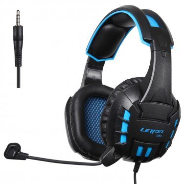 Gaming Headset with Microphone Headphones Self-adjusting Headband For Ps4 Pc Xbox 360 One Mac Iphone