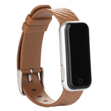 Bluetooth 4.0 Pedometer Sleep Monitoring Measuring Heart Rate Call Reminder Bracelet Smart Watch