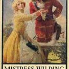 FREE SHIPPING ! Mistress Wilding by Rafael Sabatini (Hardcover) 1924
