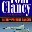 FREE SHIPPING ! Clear and Present Danger (A Jack Ryan Novel) by Tom Clancy (Paperback-1990)