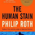 FREE SHIPPING ! The Human Stain (Paperback-2002) by Philip Roth