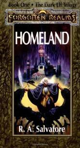 FREE SHIPPING ! Homeland: The Dark Elf Trilogy Book One (Paperback-1990) by R.A. Salvatore