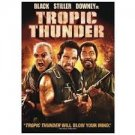FREE SHIPPING ! Tropic Thunder (DVD) Ben Stiller, Robert Downey, Jr. & Jack Black