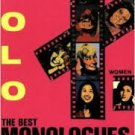 FREE SHIPPING ! The Best Monologues of the 80's(Women) Paperback-1994