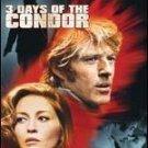 3 Days of the Condor (DVD) Robert Redford  & Faye Dunaway