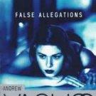 False Allegations: A Burke Novel (Paperback –  1997) by Andrew Vachss