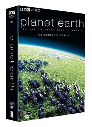 Planet Earth: The Complete Series ( 5-Disc Set-2007) Narrated by David Attenborough