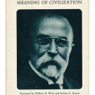 Suicide and the Meaning of Civilization (Hardcover – 1970) by Thomas G. Masaryk