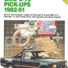 Chilton's Repair Manual: Chevrolet S-10 GMC, S-15 Pick-Ups, 1982-91