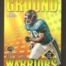 2001 Topps Chrome Refractor Ground Warriors Fred Taylor GW 7  MINT