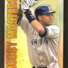 2002 Topps Hobby Masters Derek Jeter Card Number HM 2  MINT PLUS