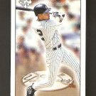 1999 Derek Jeter Pacific Private Stock #8  PS 206 Blue Back