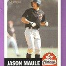 2002 Topps Heritage Jason Maule Card #422