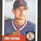 2002 Topps Heritage Tony Fontana #417