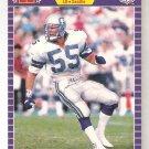 1989 Pro Set Brian Bosworth Card # 391 ( a ) Error Seattle Not Seahawks