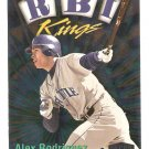 1999 Fleer Ultra Alex Rodriguez RBI Kings Card #20