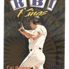 1999 Fleer Ultra Cal Ripken RBI Kings Card #22