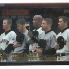2001 Topps United We Stand Astros VS Giants Card #364
