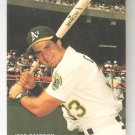 1990 Mother's Cookies Jose Canseco Sealed Card #3