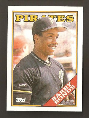 1988 Topps Barry Bonds Card #450 Solid NM/MT Plus