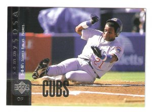 1998 Upper Deck Sammy Sosa Card #325 NM/MINT