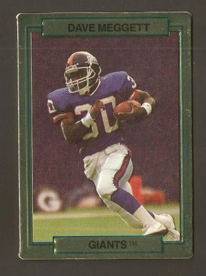 1989 Action Packed Hi Pro Dave Meggett Card #17 NM/MINT