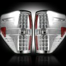 Part # 264168CL CLEAR LED Tail Lights Ford Raptor & F150 09-12