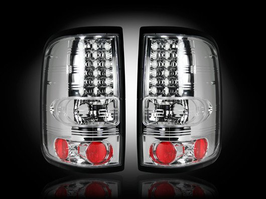 Part # 264178CL- CLEAR LED Tail Lights Ford F150