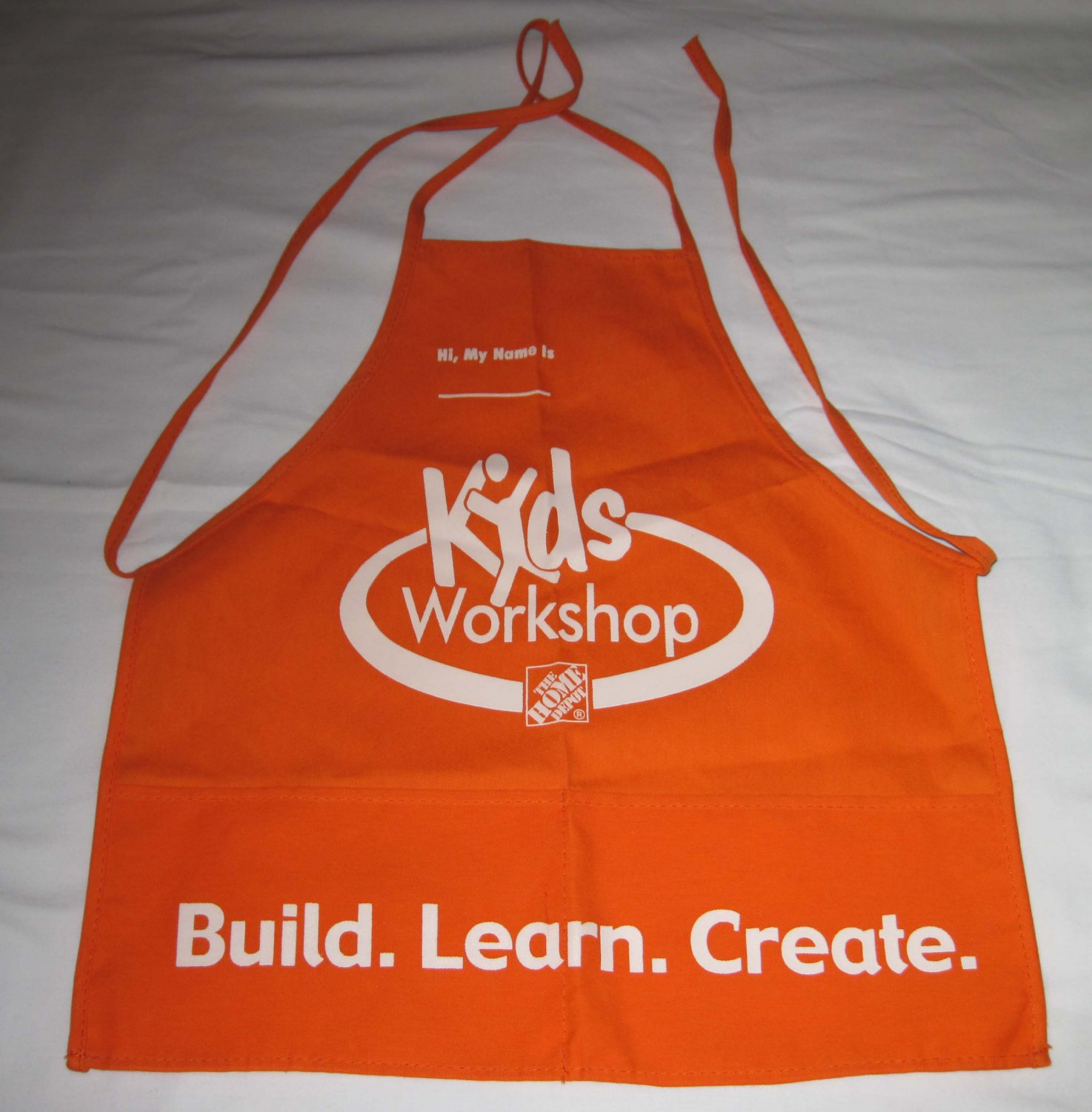 home depot kids apron - out of stock
