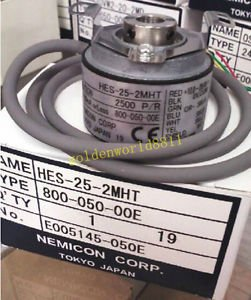 NEW NEMICON encoder HES-25-2MHT good in condition for industry use