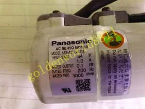 Panasonic servo motor MSM012A1GE good in condition for industry use