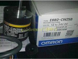 NEW Omron Rotary Encoder E6B2-CWZ5B 2000P/R good in condition for industry use