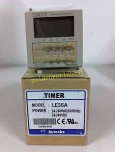 NEW Autonics LCD type digital timer LE3SA good in condition for industry use
