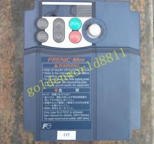 Fuji Inverter FRN1.5C1S-2J 1.5KW 220V good in condition for industry use
