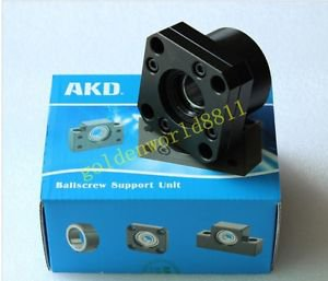 NEW AKD screw ball support set bk12 good in condition for industry use