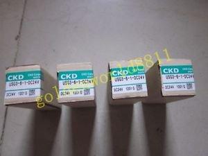 1PCS NEW CKD solenoid valve USG3-6-1 DC24V good in condition for industry use
