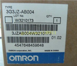 NEW OMRON inverter 3G3JZ-AB004 200V/0.4KW good in condition for industry use