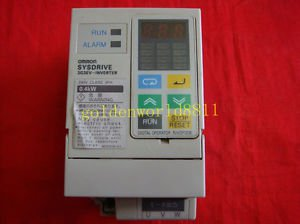 OMRON inverter 3G3EV-A2004 0.4K 220V good in condition for industry use